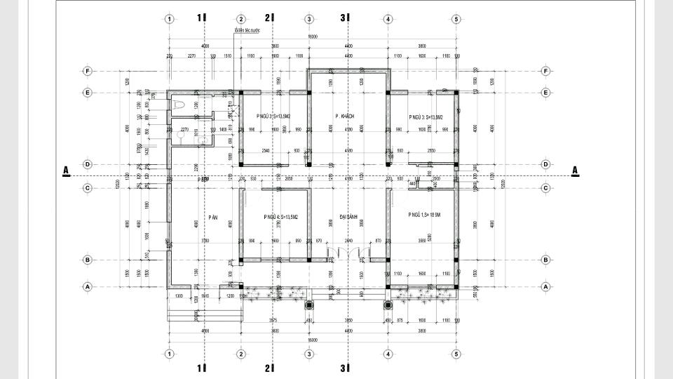Thiết kế nhà vườn 1 tầng mái Thái – không gian nghỉ dưỡng lý tưởng