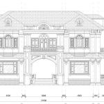 Mẫu biệt thự 2 tầng phong cách tân cổ mới nhất năm 2019