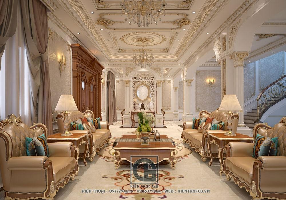 Thiết kế nội thất cho biệt thự đẳng cấp nhà Anh Tiến – Hưng Yên