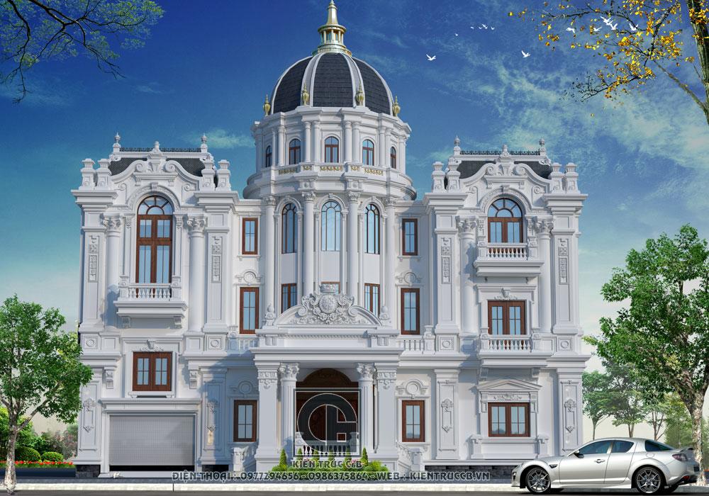Thiết kế lâu đài kiểu Pháp- biểu tượng quyền lực và đẳng cấp của gia chủ