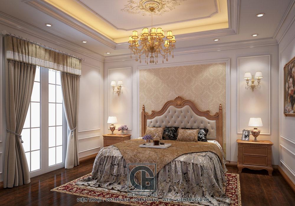 Thiết kế nội thất biệt thự đẹp mê ly Nhà anh Tuyên
