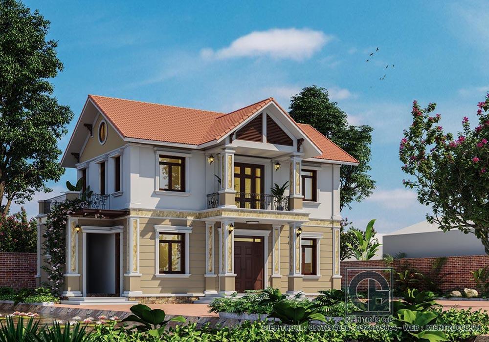 Bắt mắt với thiết kế biệt thự tân cổ điển ở Đà Nẵng