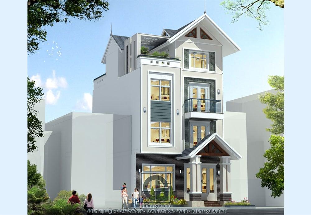 Mẫu thiết kế nhà phố hiện đại đẹp