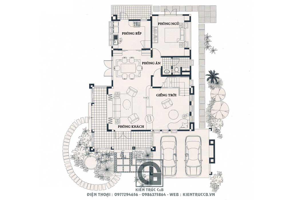 thiết kế nhà vườn đẹp