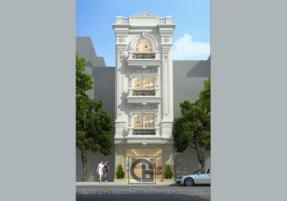thiết kế nhà lô phố hiện đại đẹp