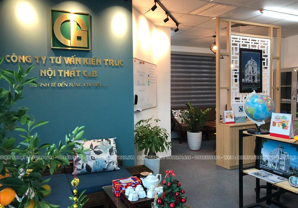 Kiến Trúc C&B trang hoàng văn phòng đón Tết