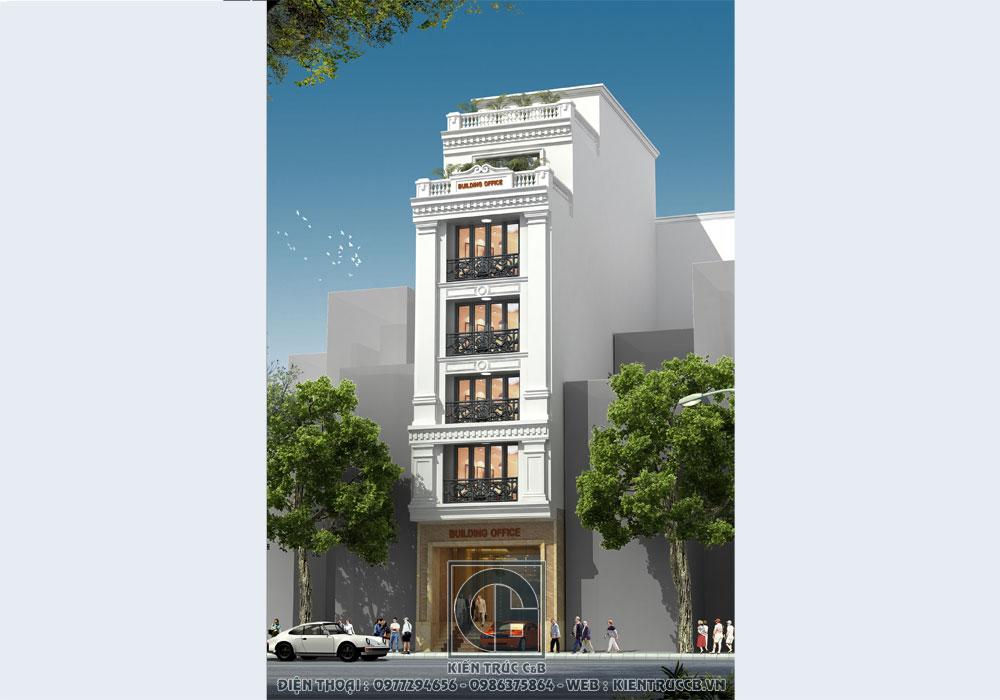 mẫu thiết kế nhà phố kinh doanh ấn tượng