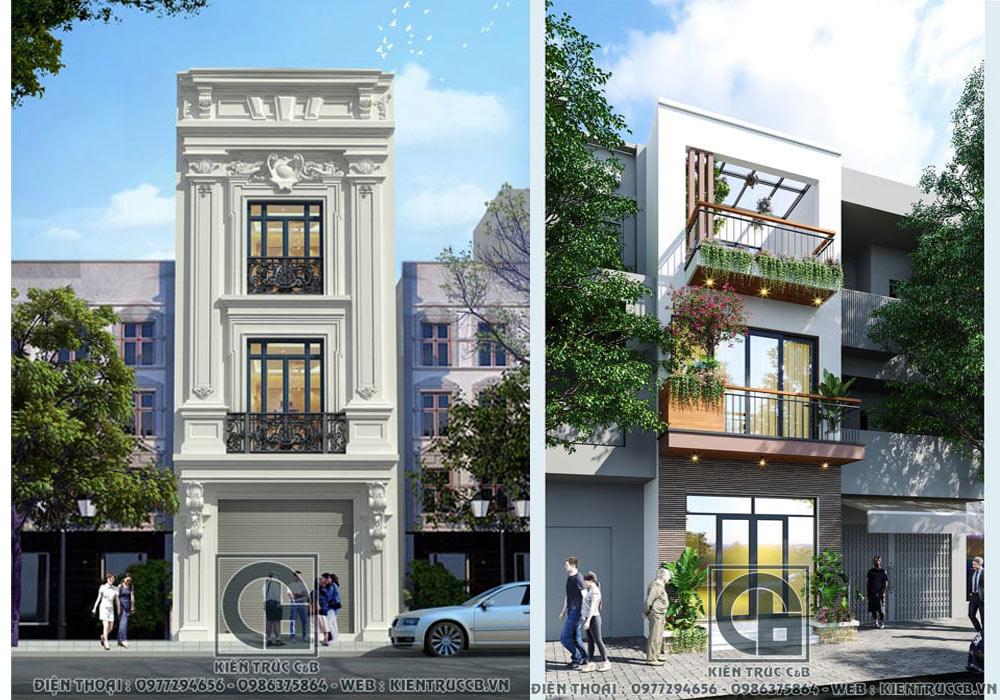 Mẫu thiết kế nhà phố 3 tầng đẹp nhất