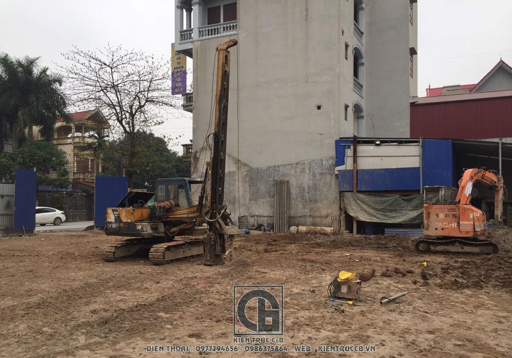 Khởi công xây dựng công trình biệt thự tân cổ nhà ông bà Kha