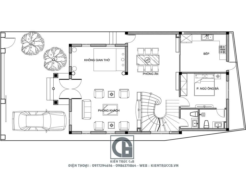 Những mẫu thiết kế biệt thự 2 tầng 3 tầng đẹp