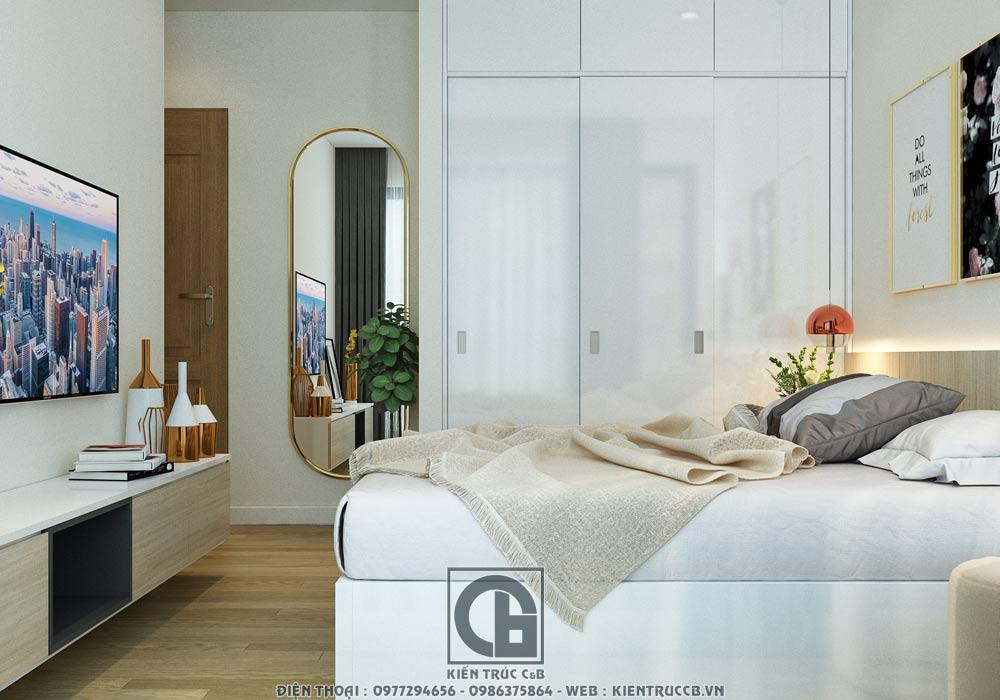 thiết kế nội thất phòng ngủ đẹp chung cư