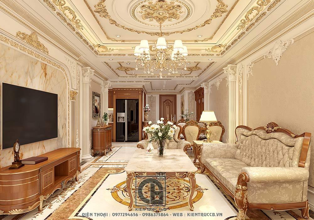 Lưu ý khi thiết kế nội thất tân cổ điển