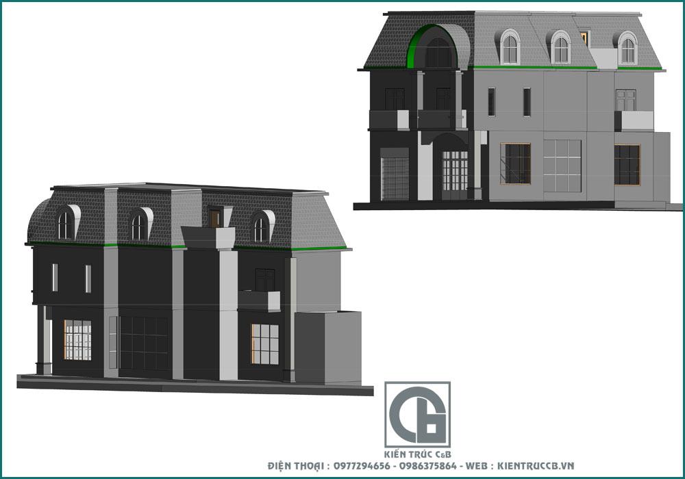 tư vấn thiết kế nhà phố khi đất bị méo
