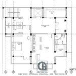 Mẫu biệt thự 4 tầng 1 tum tân cổ điển