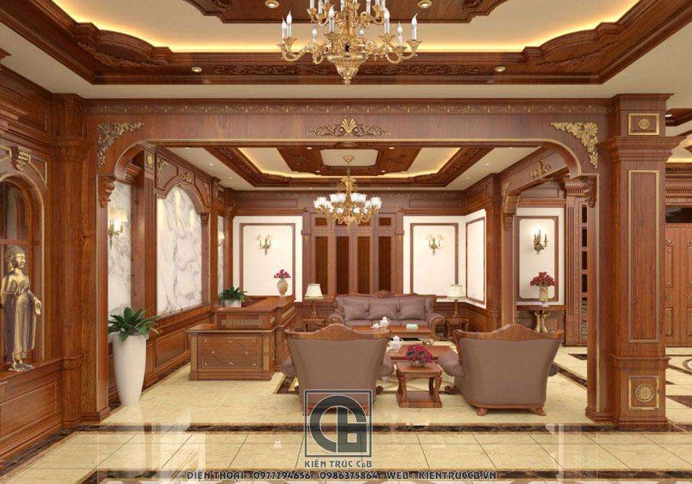Những đặc trưng trong thiết kế nội thất cổ điển