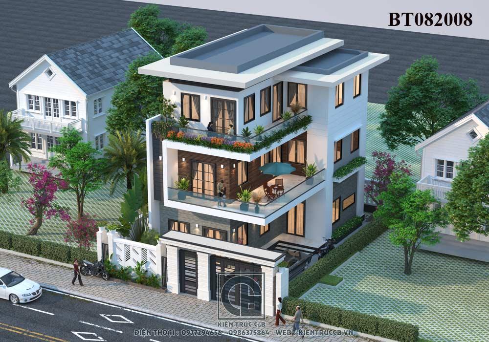 Những kiểu thiết kế biệt thự thường được lựa chọn