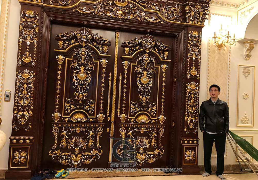 Thiết kế biệt thự nội thất lâu đài anh Tiến