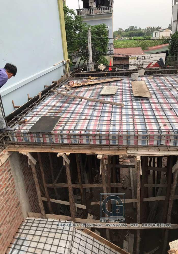Thiết kế nhà ống 3 tầng 1 tum theo phong cách tân cổ điển