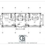 mẫu thiết kế biệt thự 3 tầng 1 tum tân cổ điển