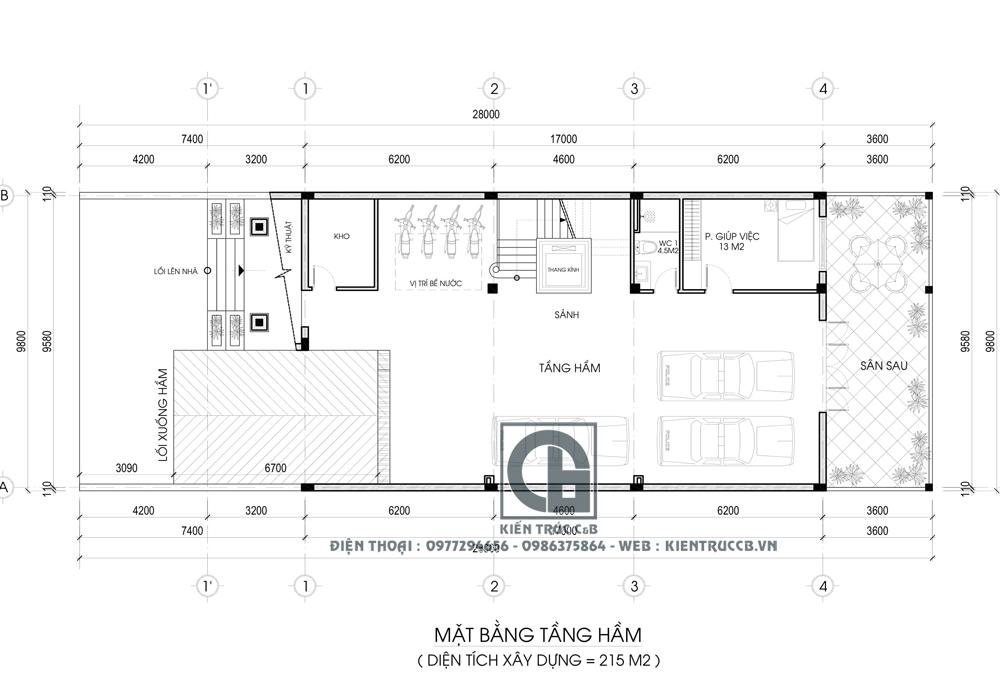 Mẫu biệt thự 3 tầng mái nhật theo phong cách tân cổ điển nhẹ nhàng